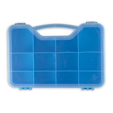 Grossery Gang Compatible Case Organizer Box - Grozzery Gang Storage Case Holds Over 70 Figures - Blue