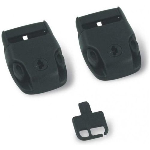 Essentials Replacement Set of Spa Cover Locks and Key - Pinch Release Operation