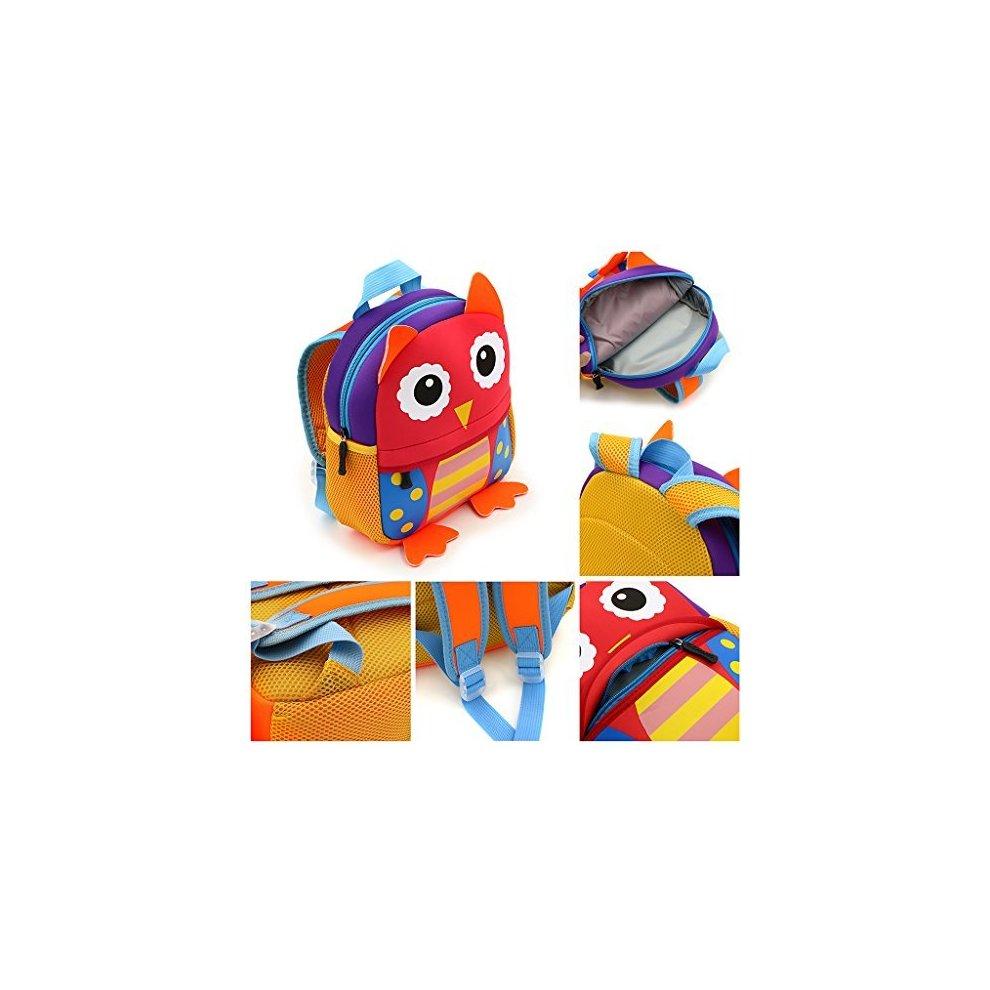 269956921ce1 ... IGNPION Nursery Kids Backpacks Toddle Children School Bag Zoo Lunch Bag  3D Cute Animal Cartoon Preschool.