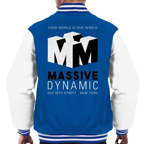 Fringe Massive Dynamic Logo Men's Varsity Jacket
