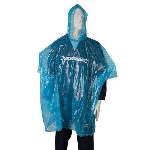Blue Silverline Waterproof Poncho - One Size -  waterproof poncho one size blue
