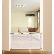 Dreambaby Retractable Stair Gate - White - F820