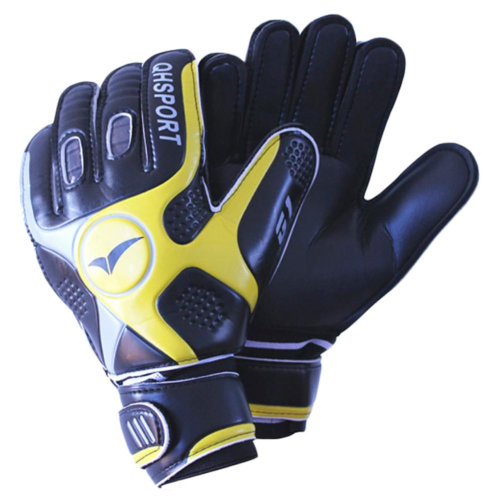 Cool Soccer Receiver Gloves Sport Gloves For Adult, Black/Yellow