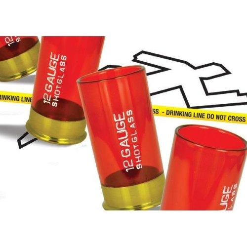 12 Gauge Shot Glass - Glasses Cartridge 4 Plastic Set Mustard Shotgun Shell -  shot 12 gauge glasses cartridge 4 plastic set mustard shotgun shell