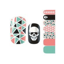 Set of 5 Creative DIY Nail Stickers Decals for Nail