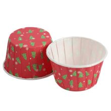 100PCS Lovely Baking Paper Cups Cupcake Carrier Cup Cupcakes Cases, No.8