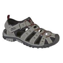 PDQ Mens Walking Sandal Grey 7 UK