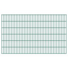 vidaXL 2D Garden Fence Panels 2008x1230 mm 40 m Green