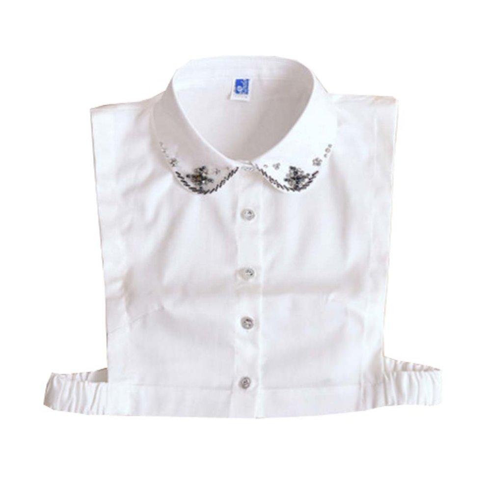 Womens Half Shirt Detachable Collars Fake Collars Replacement Shirt