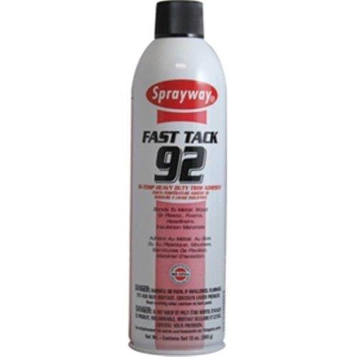 Sprayway 92 13 oz. Amber Heavy Duty Trim Adhesive