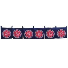 Japan Noren Curtain Tapestry Six Flowers