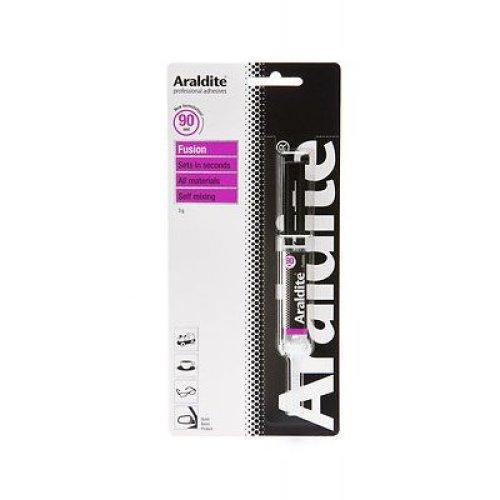 3g Araldite Fusion Adhesive - Syringe Epoxy -  araldite fusion syringe 3g epoxy