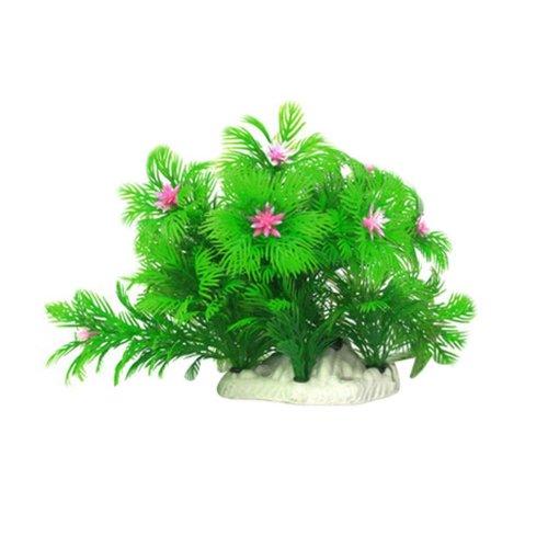 Emulational Fish Tank Plants Aquarium Decor Coral Decoration,Green