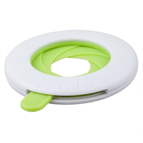 TRIXES Adjustable White & Green Spaghetti Measurer