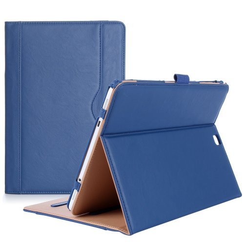 ProCase Samsung Galaxy Tab S2 9.7 Case - Leather Stand Folio Case Cover for Galaxy Tab S2 Tablet (9.7 Inch, SM-T810 T815 T813) - Navy