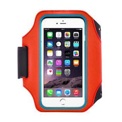 [Red] Cell Phone Armband Sport Armband Fashion Arm Package Armband For Running