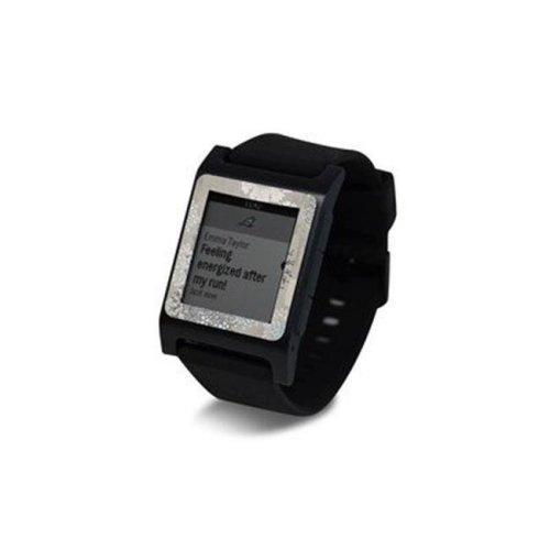 DecalGirl PW2SE-CHRSPAR Pebble 2 SE Smart Watch Skin - Christmas In Paris