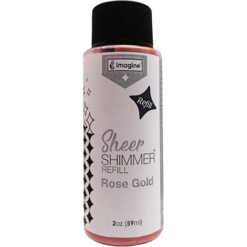 Imagine Sheer Shimmer Refill 2oz-Rose Gold