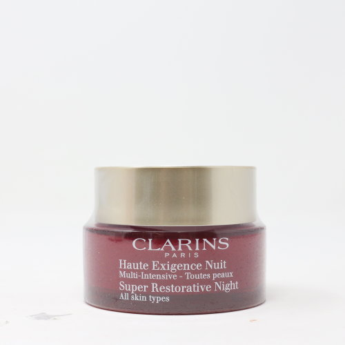 Clarins Super Restorative Night Age Spot Correcting Replenishing Cream 1.6oz  New