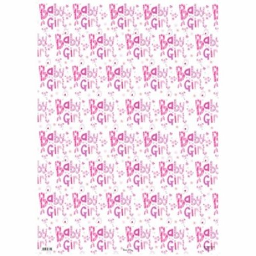 Se 24 Sheets Gift Wraps Baby Girl 2599 Gift Wrapping Paper Girls