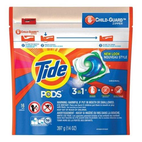 Tide 1670223 16 Count Original Scent Pod Laundry Detergent