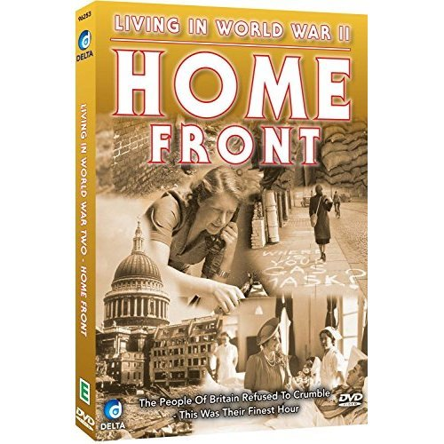 LIVING IN WWII-HOME FRONT [DVD]
