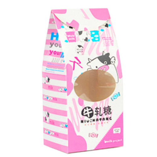 50PCS Cute Boxes WithHandle For Pack Candies,Nougat,OtherGift,in Party,Birthdays,and other Events,#4