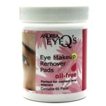 Andrea Eye Qs 65s Oil Free Eye Makeup Remover Pads (Case of 6)
