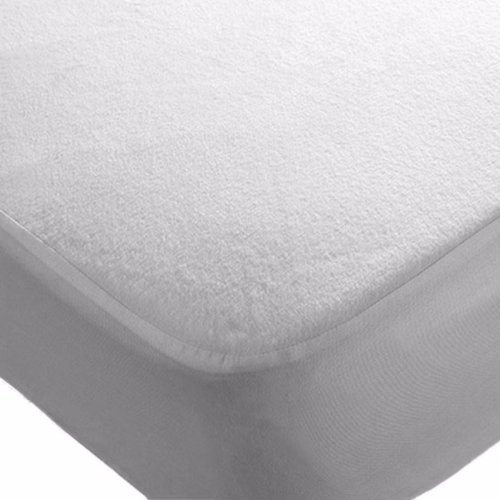 2x Cot 120 x 60 cm Waterproof Mattress Protector Fitted Sheets