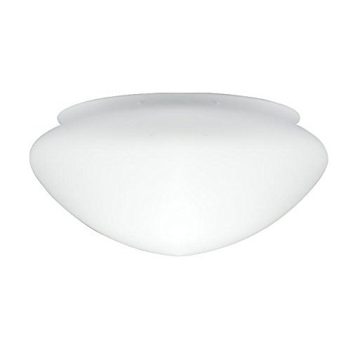 Westinghouse Lighting Opal Frosted Mushroom Shade, 17 cm - White