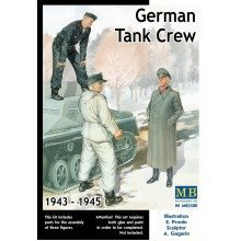 Mas3508 - Masterbox 1:35 - German Tank Crew (1943-1945) Kit No. 2