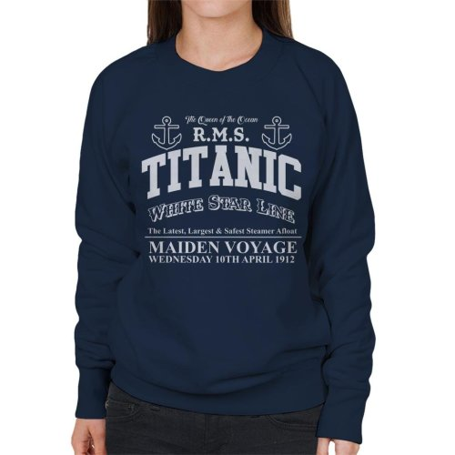 RMS Titanic Maiden Voyage Women's Sweatshirt
