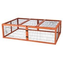Rabbit And Small Rodent Outdoor Run With Cover, 174 × 48 × 109cm - Cover 109cm -  rabbit small rodent outdoor run cover 174 48 109 cm
