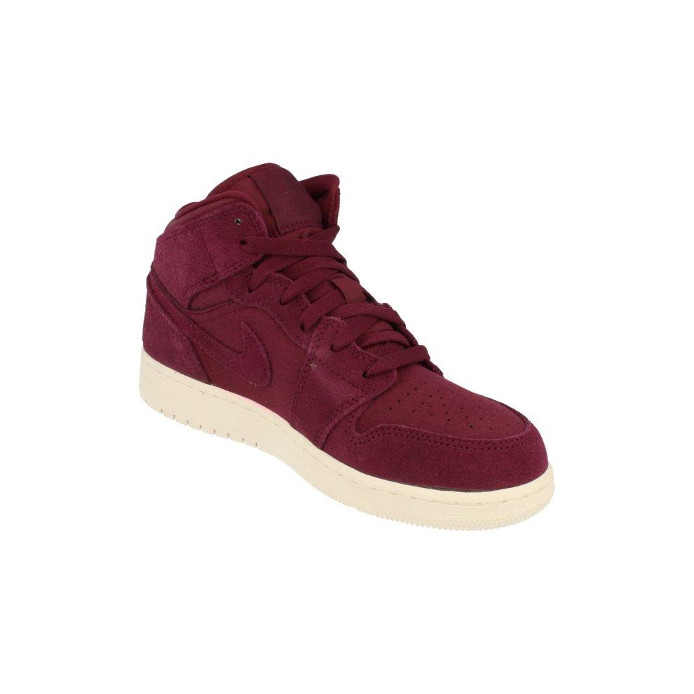 online store ee47d 389c8 ... Nike Air Jordan 1 Mid BG Hi Top Trainers 554725 Sneakers Shoes - 3 ...