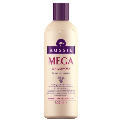 Aussie Shampoo Mega Everyday Shampooing With Kangaroo Paw Flower Extract 300ml