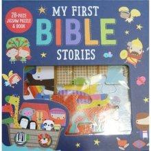 My First Bible Stories  (Jigsaw & Book)
