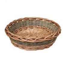 Medium Unpeeled Willow Round Tray