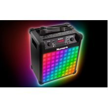 Numark Sing Master Portable Karaoke Sound System With Built In  Light Show