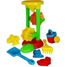 A To Z 01621 Sand And Water Mill Play Set -