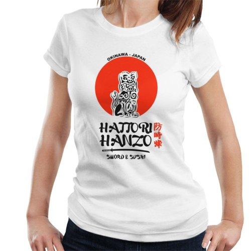 Kill Bill Hattori Hanzo Sword And Sushi Women's T-Shirt