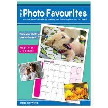 2019 DIY Print & Insert Your Own Photo Calendar 7x5 6x4 Landscape Christmas Gift