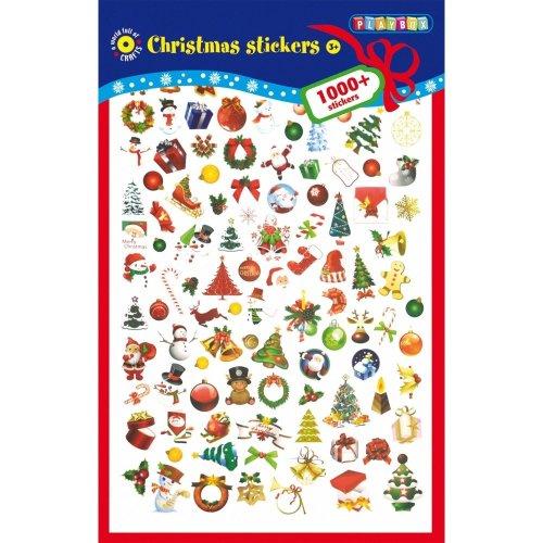 Pbx2471003 - Playbox - Sticker Pad (christmas) - 1000 Pcs