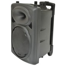 "Portable Powered PA Unit with 10"" speaker (QR10PA)"
