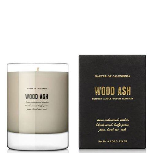 Baxter of California, Scented Candle 274g - Wood Ash