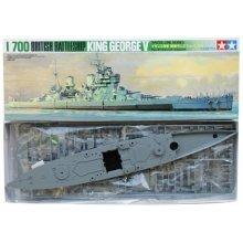 HMS King George V Battleship - 1/700 Ship Model Kit - Tamiya 77525