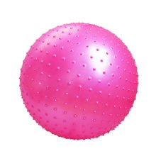 Thicken Yoga Ball Massage Ball Keep Fit For Child And Adult-Rose Red