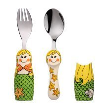 Eat4Fun Duos Mermaid Children's Cutlery Set