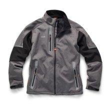 Scruffs Pro Softshell Grey Waterproof Jacket