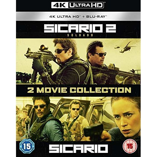Sicario / Sicario 2: Soldado - 2 Movie Collection [Blu-ray] [2018] [DVD]
