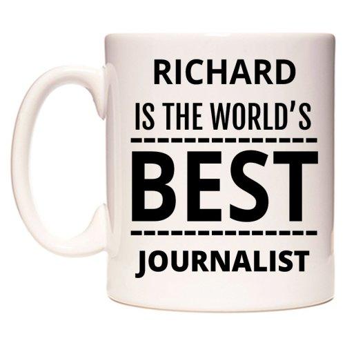 RICHARD Is The World's BEST Journalist Mug
